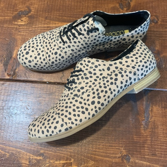 dolcetta Shoes | Cheetah Print Lace Up